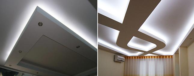 подсветка светодиодная лента потолки