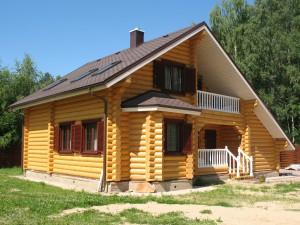 потолок в деревянном доме, отделать