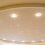 Лампочки для натяжных потолков — различные варианты освещения