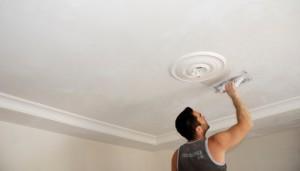 подвесной потолок из гипсокартона фото