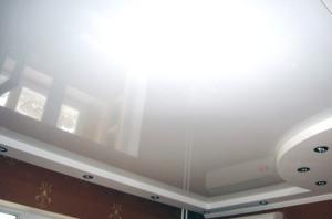 потолок, белый цвет, фото