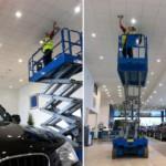 Уход за натяжными потолками — виды загрязнений и методы ухода