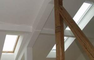 крепление гипсокартона к потолку мансарды, фото
