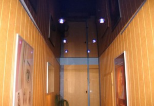 расположение светильников в два ряда