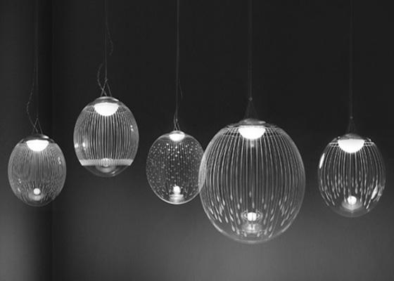 расположение светильников на