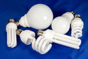 люминесцентные лампы, расположение светильников на потолке