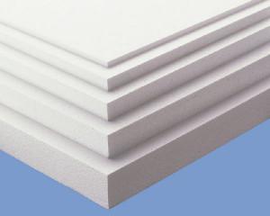 плиты пенопласта, утепление потолка