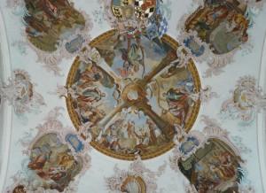 фреска на холсте