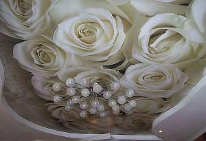 фотобои на потолок, изображение цветов