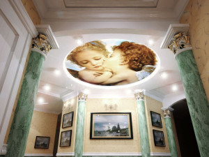 фреска с изображением ангелов